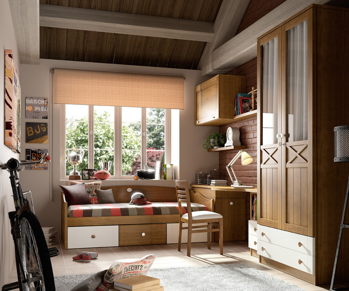 Muebles sipo dormitorio juvenil dormitorio madera - Muebles dormitorio juvenil ...