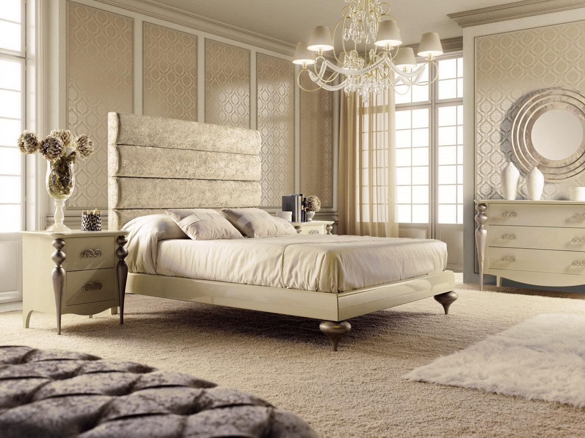 Dormitorio de matrimonio serie pasion lacado beige y patas - Dormitorio matrimonio diseno ...