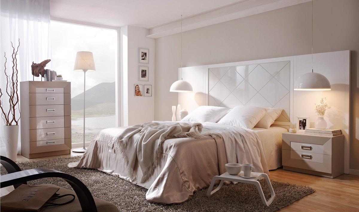 Dormitorios de matrimonio blancos affordable detalle for Dormitorios de matrimonio 2016