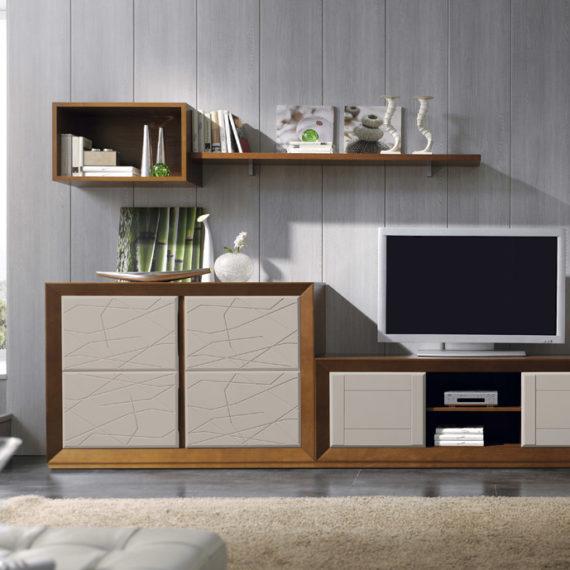 Muebles sipo salon lacado - Muebles madera salon ...