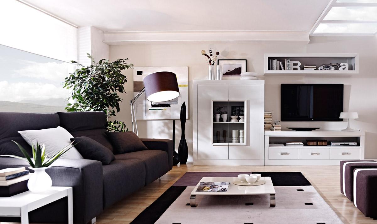 Salon Serie Kalma Acabado En Blanco Lacado Muebles Sipo # Muebles Villarreal