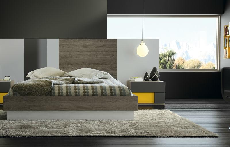 Muebles sipo dormitorio de matrimonio moderno serie eos for Dormitorio matrimonio nordico