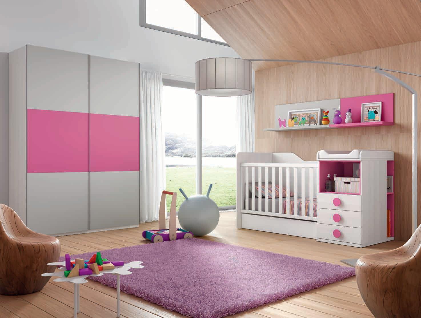 Dormitorio Infantil En Color Blanco Y Tierra Muebles Sipo # Muebles Sipo Los Barrios